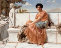In the Days of Sappho Neoclassicist lady John William Godward