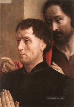 Don Art - Portait Of A Donor With St John The Baptist Hugo van der Goes