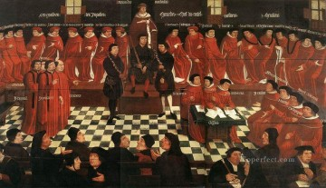 The High Council Jan Mabuse Oil Paintings
