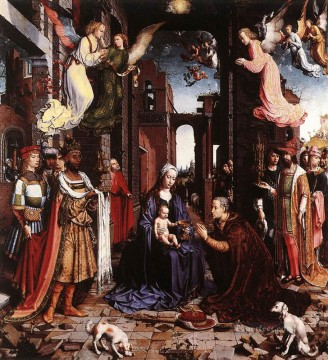 The adoration of the Kings Jan Mabuse Oil Paintings