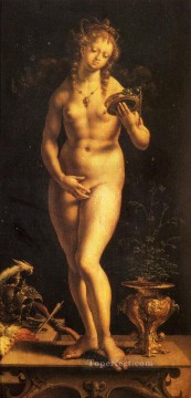 venus Painting - Venus And The Mirror Jan Mabuse