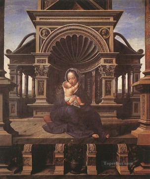 Virgin of Louvain Jan Mabuse Oil Paintings