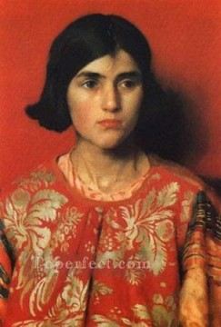 Thomas Cooper Gotch Painting - The Exile 1900 Small Pre Raphaelite Thomas Cooper Gotch