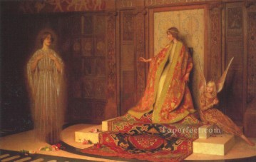 Thomas Cooper Gotch Painting - Dawn Of Womanhood Pre Raphaelite Thomas Cooper Gotch