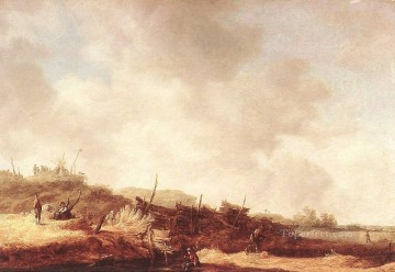 Jan van Goyen Painting - Dunes 2 Jan van Goyen
