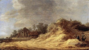 Jan van Goyen Painting - Dunes Jan van Goyen