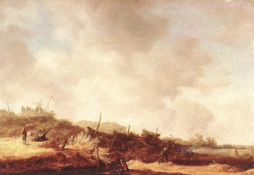 Jan van Goyen Painting - Landscape with Dunes Jan van Goyen