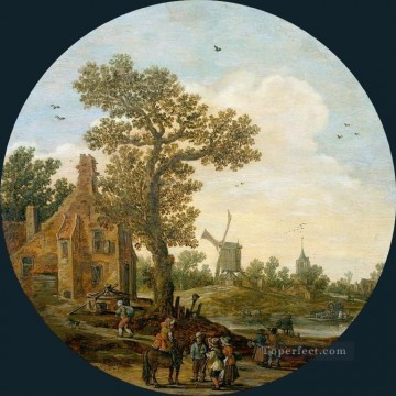 Jan van Goyen Painting - Summer Jan van Goyen