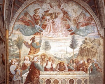 Assumption of the Virgin Benozzo Gozzoli Oil Paintings
