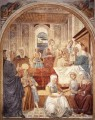 Birth of Mary Benozzo Gozzoli