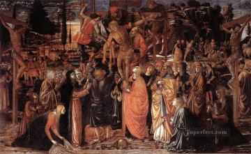 Benozzo Gozzoli Painting - Descent from the Cross Benozzo Gozzoli
