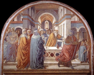 Benozzo Gozzoli Painting - Expulsion of Joachim from the Temple Benozzo Gozzoli