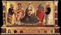 Madonna and Child with Sts John the Baptist Peter Jerome and Paul Benozzo Gozzoli