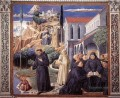 The Parable of the Holy Trinity scene 12south wall Benozzo Gozzoli