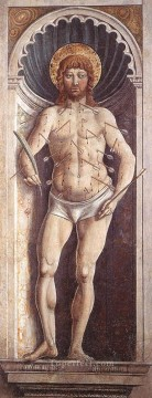 Sebastian on the Pillar Benozzo Gozzoli Oil Paintings