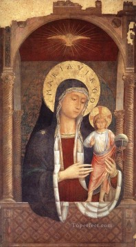 Benozzo Gozzoli Painting - Madonna and Child Giving Blessings Benozzo Gozzoli