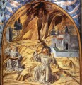 Scenes from the Life of St Francis Scene 11south wall Benozzo Gozzoli
