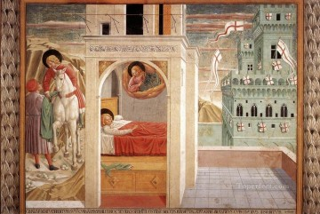 Benozzo Gozzoli Painting - Scenes from the Life of St Francis Scene 2north wall Benozzo Gozzoli