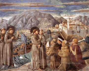 Benozzo Gozzoli Painting - Scenes from the Life of St Francis Scene 7south wall Benozzo Gozzoli