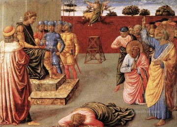 Fall of Simon Magus Benozzo Gozzoli Oil Paintings