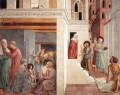 Scenes from the Life of St Francis Scene 1north wall Benozzo Gozzoli