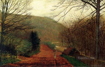 Forge Valley Scarborough city scenes John Atkinson Grimshaw Oil Paintings