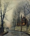November Moonlight city scenes John Atkinson Grimshaw