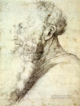 Portrait Of Guido Guersi Renaissance Matthias Grunewald Oil Paintings