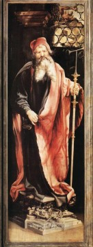 St Antony the Hermit Renaissance Matthias Grunewald Oil Paintings