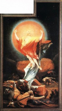 renaissance Painting - The Resurrection Renaissance Matthias Grunewald