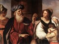 Abraham Casting Out Hagar and Ishmael Baroque Guercino
