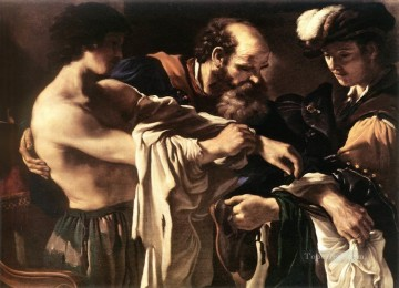 Return of the Prodigal Son Baroque Guercino Oil Paintings