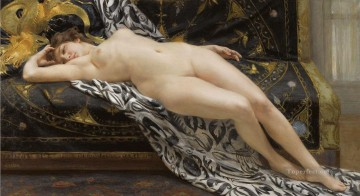 Guillaume Seignac Painting - Abandoned Academic nude Guillaume Seignac