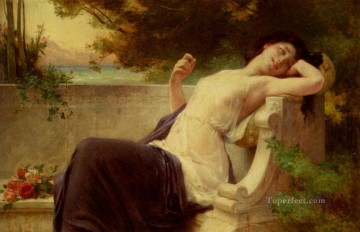 Guillaume Seignac Painting - An Afternoon Rest Academic Guillaume Seignac