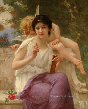 Guillaume Seignac Painting - Inspiration Guillaume Seignac