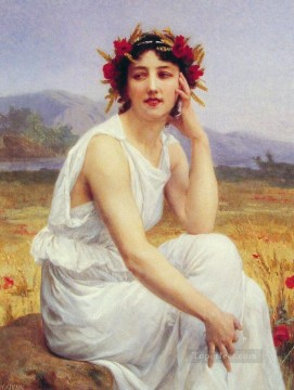 Guillaume Seignac Painting - The Muse Academic Guillaume Seignac