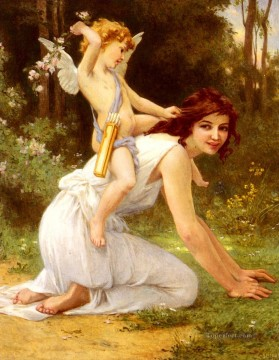 Guillaume Seignac Painting - Cupids Folly Academic Guillaume Seignac