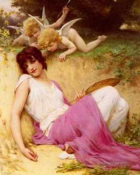 Guillaume Seignac Painting - Innocence Academic Guillaume Seignac