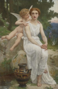 Guillaume Seignac Painting - Love Offering Guillaume Seignac