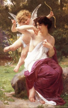 Guillaume Seignac Painting - Love Target Guillaume Seignac
