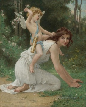 Guillaume Seignac Painting - guillaume seignac venus and cupid