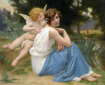 Guillaume Seignac Painting - seignac guillaume cupid and psyche
