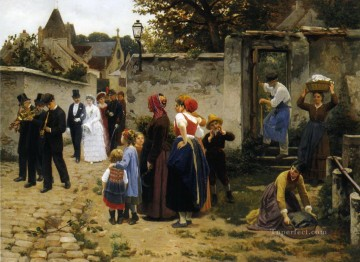 Wedding Art - The Wedding Procession Guillaume Seignac