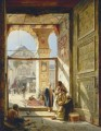 The Gate of the Great Umayyad Mosque Damascus Gustav Bauernfeind Orientalist
