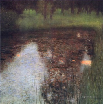 The Swamp Gustav Klimt Oil Paintings
