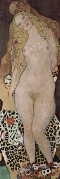 adam Painting - Adam and Eva Gustav Klimt