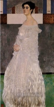 Bildnis Margaret Stonborough Wittgenstein 1905 Symbolism Gustav Klimt Oil Paintings