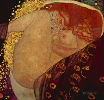 Danae Gustav Klimt Oil Paintings