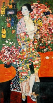 Die Tanzerin 1916 Symbolism Gustav Klimt Oil Paintings