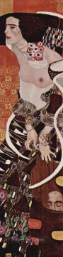 Judith Symbolism Gustav Klimt Oil Paintings